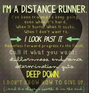 distance runner